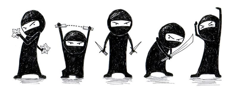 Five_tiny_ninjas_by_ihni-d3hhsir